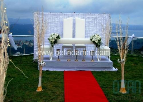 Villa Ozan Restaurant-Villa Ozan Restaurant-gelin damat masası