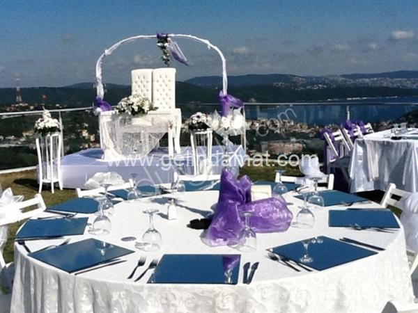 Villa Ozan Restaurant-Villa Ozan Restaurant-Boğaz manzaralı kır düğünü