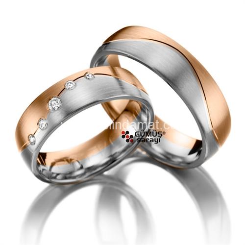 rose white rings