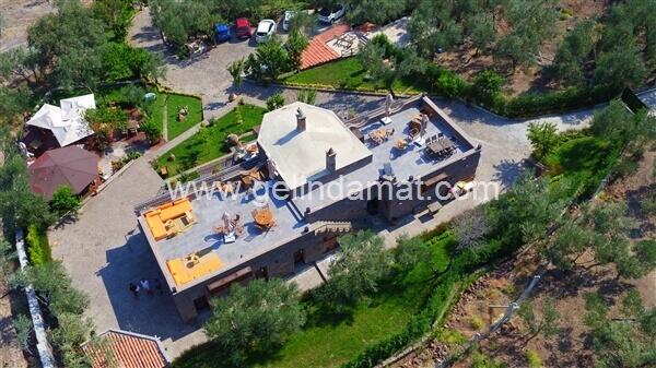 ASSOS DİONYSOS HOTEL-ASSOS DİONYSOS HOTEL- Teras Üst Görünüm