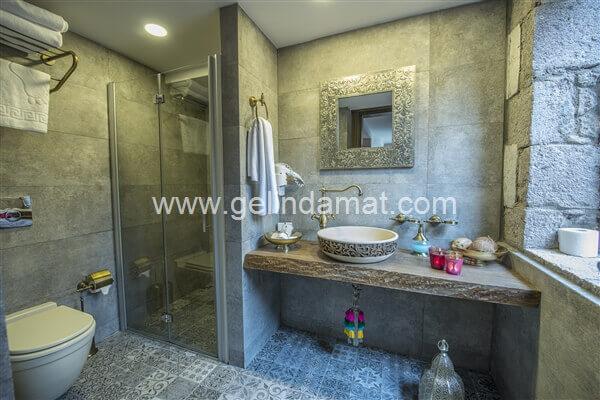 ASSOS DİONYSOS HOTEL  -  ASSOS DİONYSOS HOTEL-Banyo