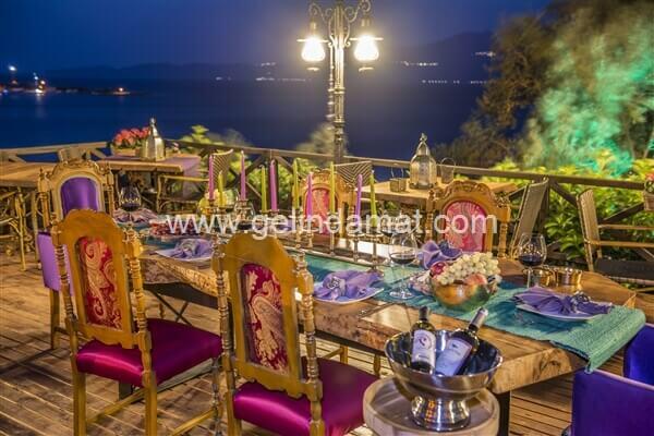 ASSOS DİONYSOS HOTEL  -  ASSOS DİONYSOS HOTEL-Akşam Yemeği