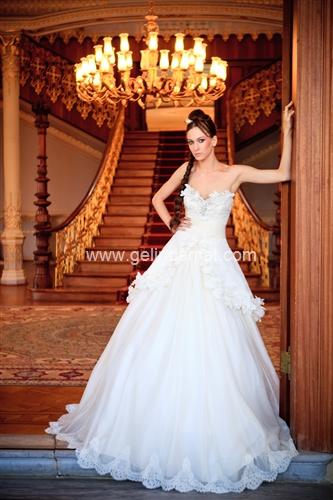 Beyaz Moda Gelinlik1