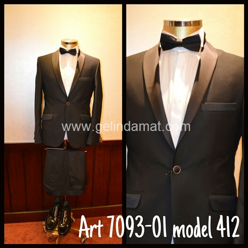 Şal yaka Art 7093-01 model 412