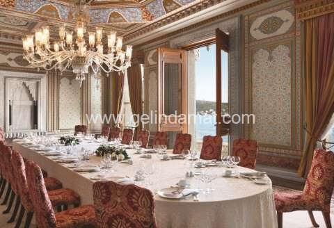 Çırağan Palace Kempinski İstanbul-çırağan palace yemek salonu