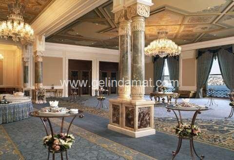 Çırağan Palace Kempinski İstanbul-çırağan palace kokteyl salonu