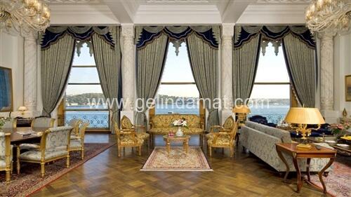 çırağan palace manzaralı mekan fotoğrafı