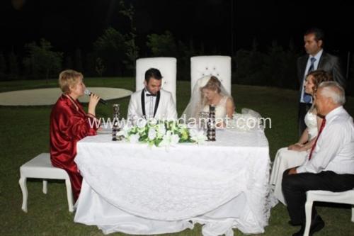 Çitlembik Bahçe-Nikah Töreni