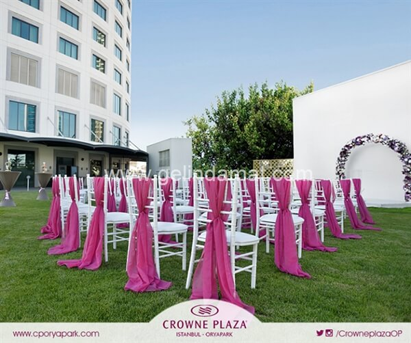 Crowne Plaza Istanbul Oryapark Düğün