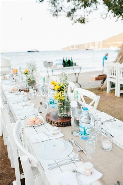 Daphnis Hotel Beach Restaurant Göltürkbükü