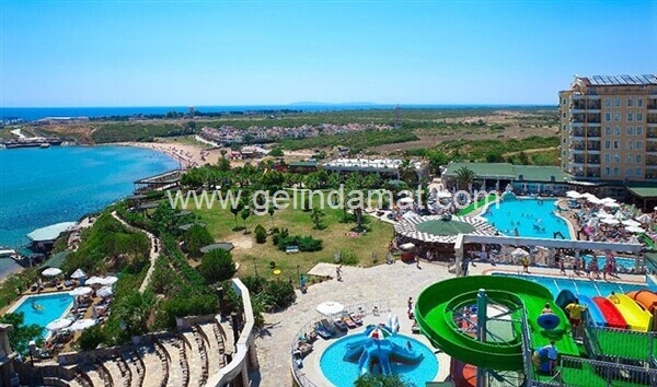 DİDİM BEACH RESORT & SPA -DİDİM BEACH RESORT & SPA-Sahil Kıyısı ve Bahçe