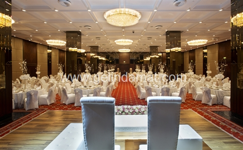 Doubletree hilton hotelde düğün