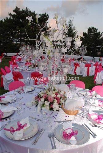 Dudo Catering-cent koleji tesisleri düğün masaları