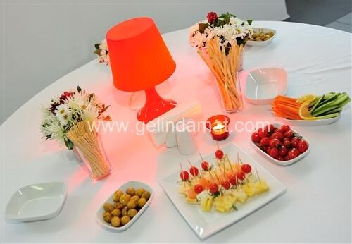 Dudo Catering-kokteyl menüleri