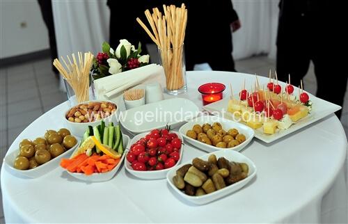 Dudo Catering-düğün ve nişan kokteyl menüleri