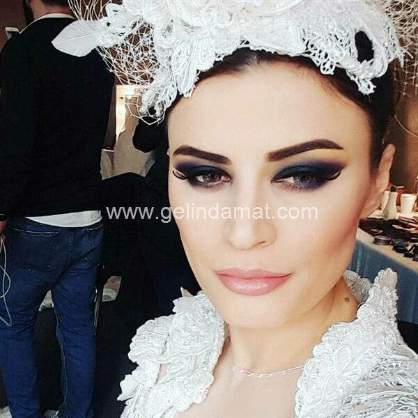 Ebru Şahin Akademi-Gelin Makyajı