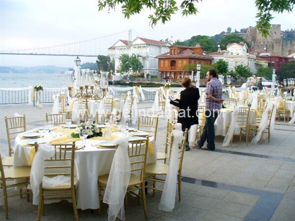 Eğlence Organizasyonu-Düğün Organizasyonu masa süslemeleri