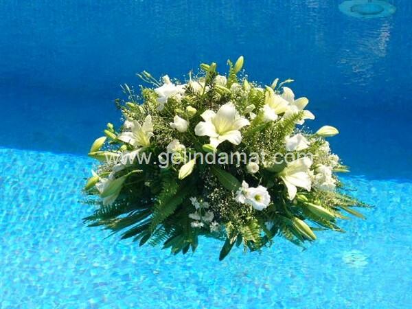 Eğlence Organizasyonu-Havuz Çiçek Organizasyonu- Eğlence Organizasyonu