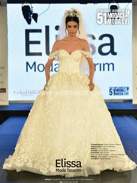 Elissa Moda Tasarım - Fatma Mendi - Gelinlik Modelleri