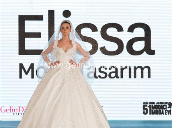 Elissa Moda Tasarım - Fatma Mendi  -  Elissa Moda - Gelinlik Defilesinden