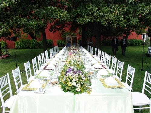 Feriye Palace-feriye lokantası masa düzeni