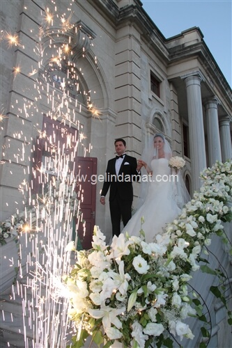 Feriye Palace-feriye lokantasında bir düğün