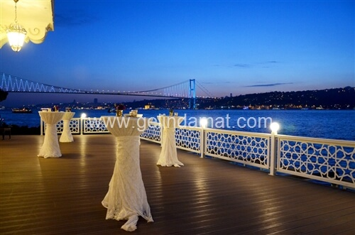 Gül Sultan Yalısı Düğün  -  Boğazda Düğün Mekanları
