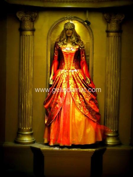 Gülşah  Sultan Kına Sarayı-Gülşah Sultan Kına Sarayı - Bindallı Kıyafeti