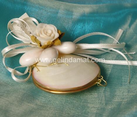 Hera Design - Nikah Şekeri-bademli çiçekli nikah şekeri