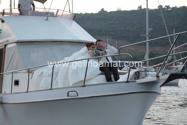 ada beach club yat ve teknede düğün