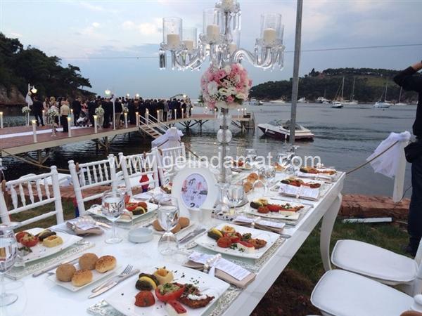 Deniz kenarı düğün mekanları -  Heybeliada ada beach club