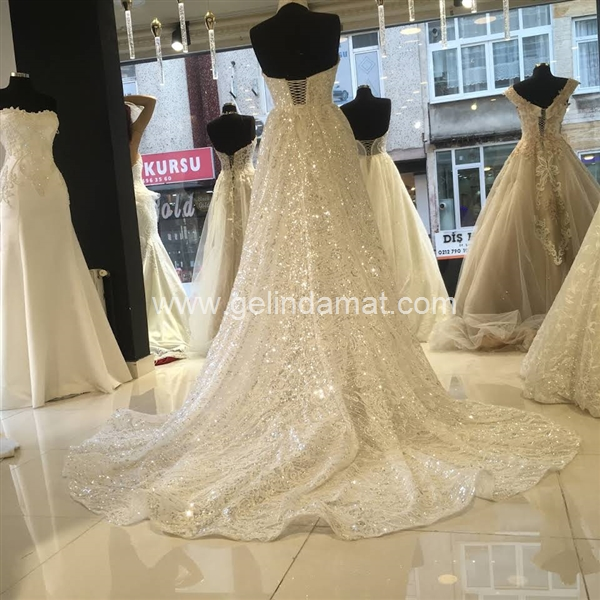 İnci Wedding Dress Semra Karaca  -  İnci Wedding Dress Semra Karaca_36