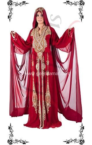 J Kaftans Bindallı Kaftan-tesettürlü bindallı kıyafetleri