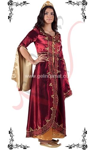 J Kaftans Bindallı Kaftan-imalattan bindallı kıyafeti
