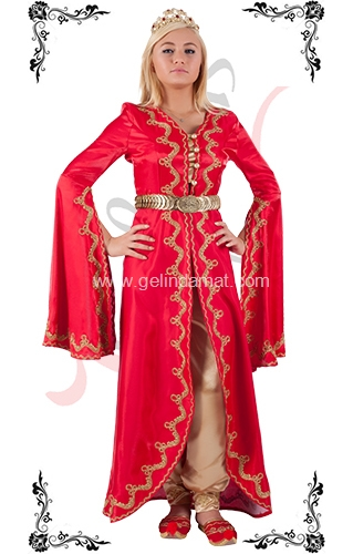 J Kaftans Bindallı Kaftan-kemerli bindallı kıyafeti