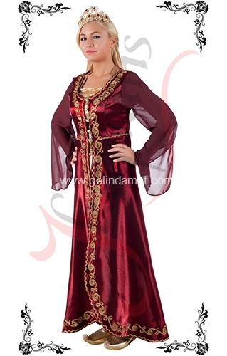 J Kaftans Bindallı Kaftan-yöresel kıyafetler