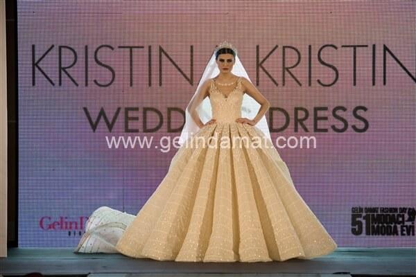 Kristina Kristin  -  Kristina Kristin-Taşlı Gelinlik