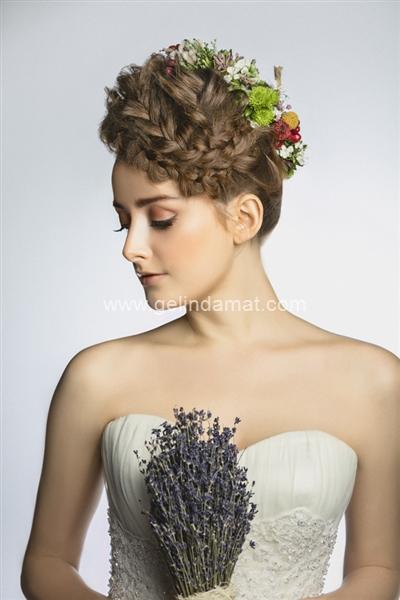 Mali Kuaför  -  Gelinlik Saçı Modelleri