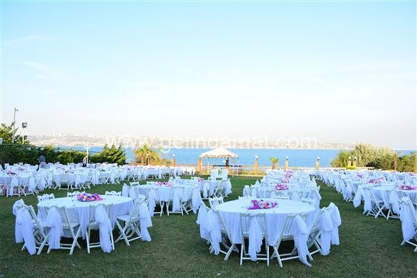 Oba Club Sinanoba-Oba Club Deniz Manzaralı Düğün