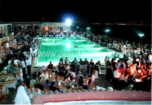 Oba Club Sinanoba-büyükçekmece havuzlu düğün mekanları