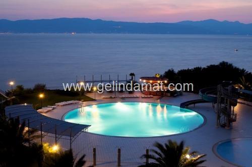 Çeşme Ontur Hotels-havuzbaşı düğün