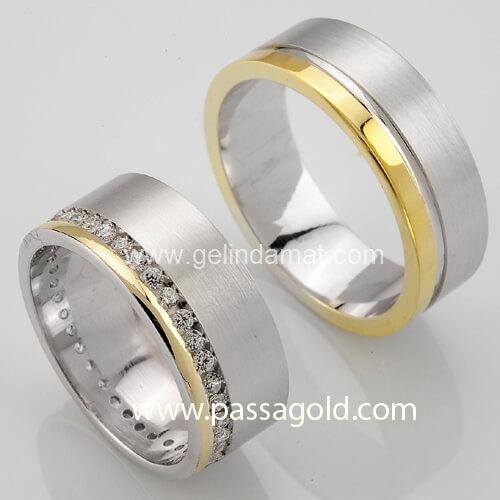 Passa Gold  -  Altın Alyans Modelleri