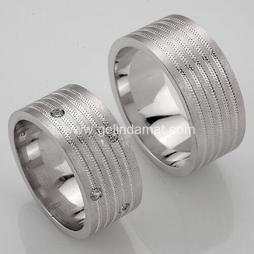 Passa Gold  -  Gümüş Alyans Modelleri