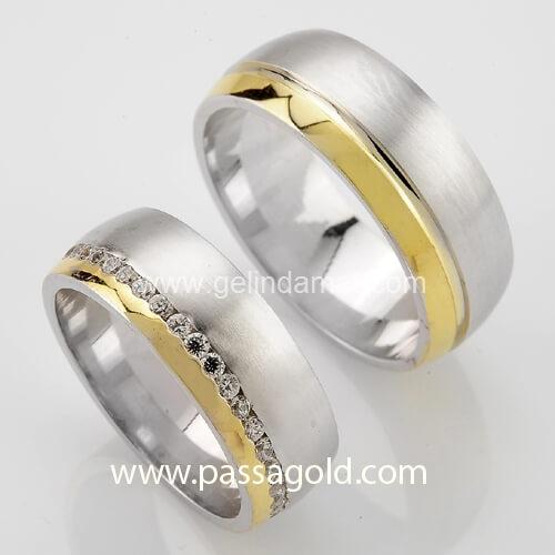 Passa Gold  -  Ucuz Alyans Fiyatları