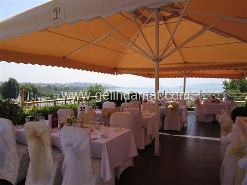 Pinhan restaurant teras düğünleri
