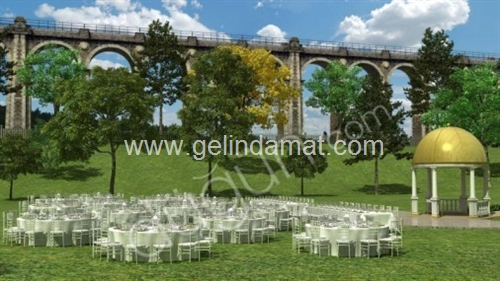 Qubbe Bahçe Düğün-Qubbe Bahçe Kır Düğünü