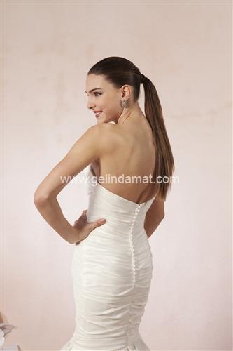 Sweetheart bridal Laperi Gelinlik60