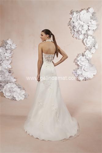 Sweetheart bridal Laperi Gelinlik56