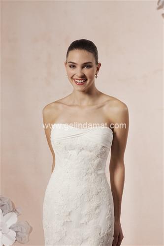 Sweetheart bridal Laperi Gelinlik58