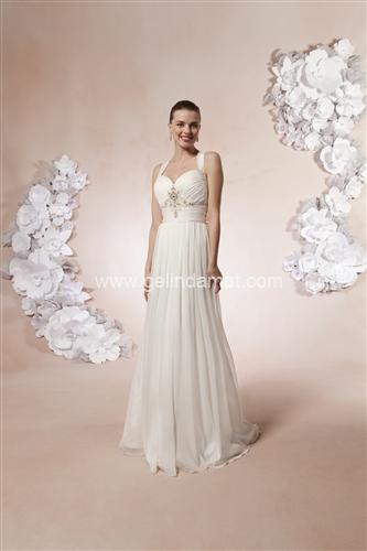 Sweetheart bridal Laperi Gelinlik55